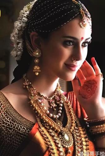 海娜手绘是印度的吗?国内哪里有学习海娜手绘的地方?