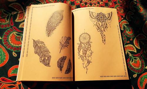 曼海蒂|海娜手绘基本图样有哪些?该怎样学习?